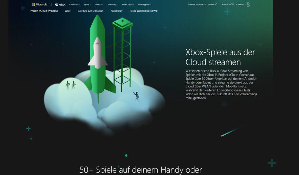 Project xCloud Cloud Gaming